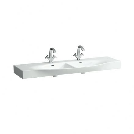 813706 - Laufen Palace 1500mm x 510mm Double Washbasin - 8.1370.6